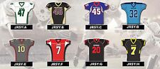 CUSTOM TWILL YOUTH Football Jerseys Various STYLES /YOU CHOOSE COLORS