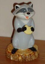 "Disney  MEEKO POCAHONTAS RACCOON 4""H  ceramic Figurine"