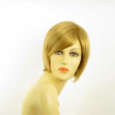 Perruque femme courte blond doré CECILIA 24B