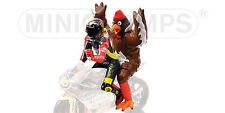Figurine V.Rossi + ChickenGP 250 Barcelona 1998 312980146 1/12 Minichamps