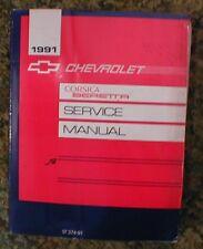 1991 Chevrolet Corsica Beretta Service Shop Manual 91