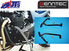 Renntec Motor Negro Protector de choque guardias Barras Kawasaki ZR7 ZR750 Zephyr 99-01