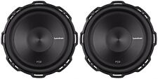 "(2) Rockford Fosgate Punch P2D2-12 12"" 1600 Watt Dual 2 Ohm  Car Subwoofers Subs"