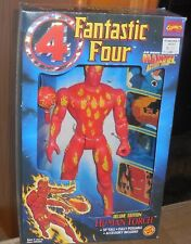 Toybiz Fantastic Four HUMAN TORCH Mib New Deluxe