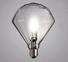 Large E27 G9 halogen lamp Diamond Vintage Edison Light bulb special rare 220v