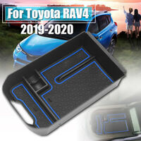 For Toyota RAV4 2019 2020 Car Center Console Armrest Storage Box Organizer Tray