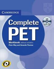 COMPLETE PET WORKBOOK WITHOUT ANSWERS - MAY, PETER/ THOMAS, AMANDA - NEW BOOK