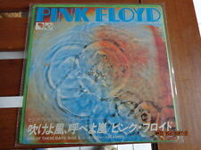"PINK FLOYD - ""ONE OF THESE DAYS"" -  7""  JAPAN - 1971 EMI  EMR-20388 - RARE"