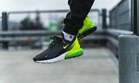 Nike Air Max 270 SE Men's Sz  10 Black/Volt Anthracite running shoes AQ9164 005
