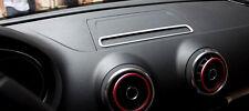 Silver Interior GPS Dashboard Console Cover Trim 1PCS  for Audi A3 8V 2012-2018