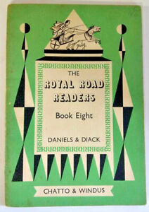 The Royal Road Readers, Book Eight, by Daniels & Diack - Early Reader