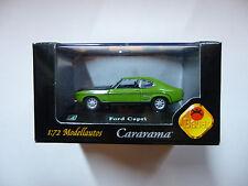 CARARAMA   Ford capri  1/72 eme  hongwell  NEUF   BAUER