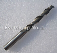 Lot 2pcs 2Flute Hss Long End Mills Cutting Dia 12mm Length 160mm HSS Endmills