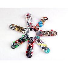Kid Funny Mini Finger Board Gift Toy Tech Deck Skate Skateboard Miniature 2pcs