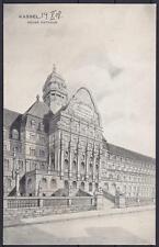 Alte AK Kassel neues Rathaus 1908, Künstlerkarte, gel. n. Hannover Germania