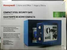 Small Steel Security Safe with Digital Lock, 0.17 cu. ft., four colors