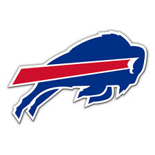 NFL NIP 12 INCH AUTO MAGNET BUFFALO BILLS CURRENT LOGO