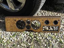 1982-1990 Chevy GMC G-series G10 Van Instrument Cluster Bezel woodgrain & brown