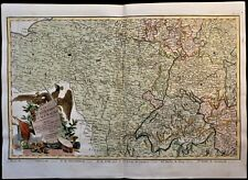 ANTIQUE MAP OF THE GERMAN EMPIRE 1790
