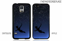 Disney Peter Pan Flying The Night Sky Phone Case for Apple or Samsung Phone Case
