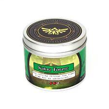 Kokiri forest legend of zelda scented candle - geeky candles - gamer gifts zelda