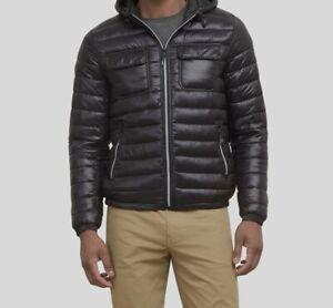 Kenneth Cole New York mens Hooded Down Alternative Jacket