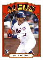 2019 Topps Throwback Thursday Baseball #137 Pete Alonso RC Rookie New York Mets
