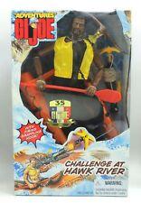 "Adventures GI Joe CHALLENGE AT HAWK RIVER African American 12"" Action Figure"