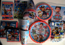 PAW PATROL -Nick Jr. Birthday Party Supply SUPER KIT w/Hats,Balloons & stickers
