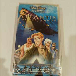 Walt Disney Classics Collection Atlantis The Lost Empire VHS vintage retro 90s