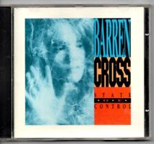 "BARREN CROSS - ""STATE OF CONTROL""  (RARE '89 ENIGMA RECORDS ISSUE)  CHRISTIAN"
