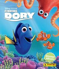 DISNEYS FINDING DORY STICKER COLLECTION ALBUM & ALL STICKERS TO COMPLETE ALBUM