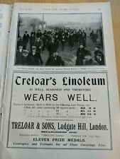 Original 1902 magazine FA CUP BRISTOL ROVERS FC STOKE CITY