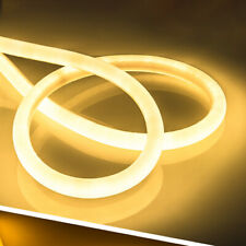 1-5m SMD 2835 360° Glow Round LED Neon Rope Light Strip + Plug Wateproof IP67
