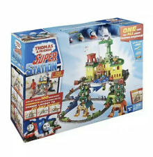 Fisher-Price Thomas and Friends Super Station Playset Great Gift Kids Toy NIB