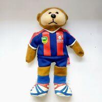 Newcastle Knights Beanie Kids Plush Toy Teddy Bear Stuffed Animal 22cm