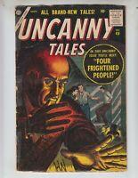 "Uncanny Tales 49 Good Plus (2.5) 11/56 Atlas! ""Four Frightened People!"""