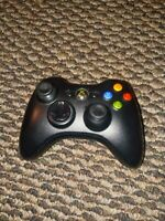 Official Microsoft Xbox 360 Black Wireless Controller Genuine Original OEM