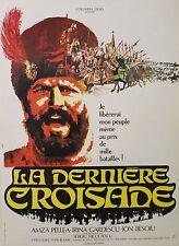 """LA DERNIERE CROISADE"" Affiche originale entoilée (Sergiu NICOLAESCU)"