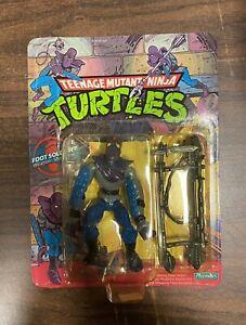 Vintage TMNT Teenage Mutant Ninja Turtles ~Foot Soldier~ 1988 Playmates figure