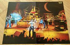Uriah Heep Live 1977 John Lawton Swedish Poster Magazine 1970s Vintage
