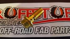 Brake Hydraulic Hose to Caliper Banjo Bolt Zinc Dorman 13940 GM/Chevy (Single)