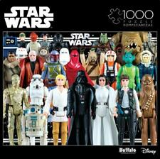 Buffalo Games Puzzle Star Wars Vintage Toy Action Figures 1000 #11812