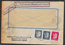 Estonia covers 1944 Airmailcover Deutsche Dienstpost Ostland/Tallinn