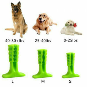Dog Cat Pet Toothbrush Toy Clean Teeth Brushing Stick Brush Mouth Chewing Clean
