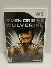WII X-Men Origins Wolverine Game Nintendo Teen Excellent Condition