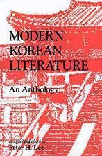 Modern Korean Literature: An Anthology-ExLibrary