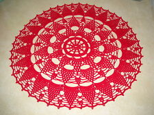 Beautiful NEW Hand Crocheted Doily Clusters HI-205