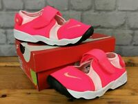 NIKE RIFT HOT PINK TRAINERS VARIOUS SIZES CHILDRENS GIRLS SUMMER T