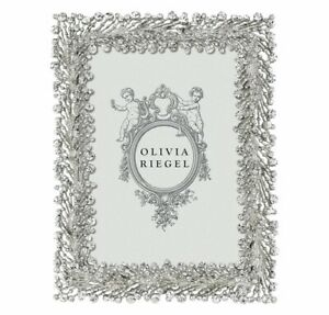 """OLIVIA RIEGEL TWINKLES 5X7"""" PHOTO FRAME WITH DECORATIVE METAL BACK RT7857.NEW"""